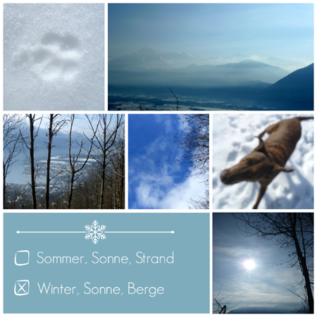Wintertraum Collage
