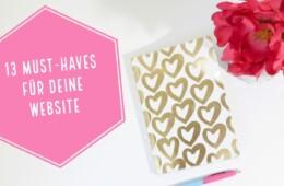 13 Must-Haves für eine Website, die dir Kunden bringt