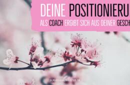 Wie du dich als Online-Coach spitz positionieren kannst